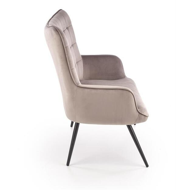 CASTEL XL sofa pilka / juoda