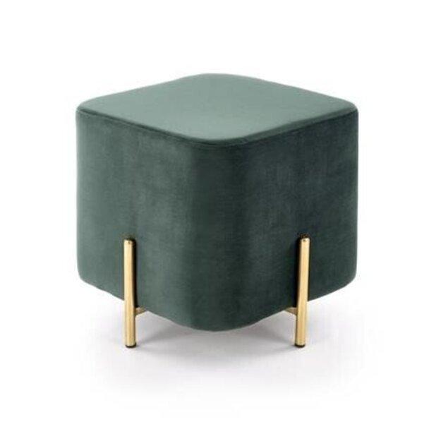 CORNO pufas tamsiai žalias / auksinis