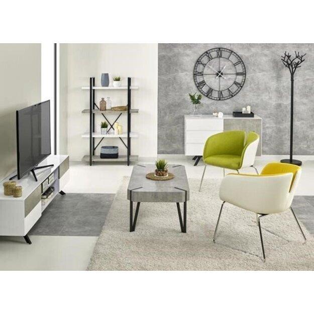 STONNO RTV1 TV staliukas baltas / betonas